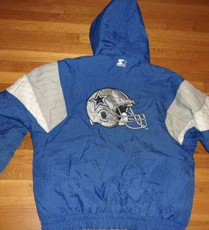 Large Cowboys Starter Jacket for Sale in Bridgeton, MO
