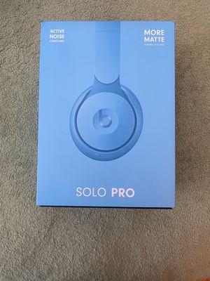 BEATS Solo Pros (Matte Baby Blue) for Sale in Dearborn, MI