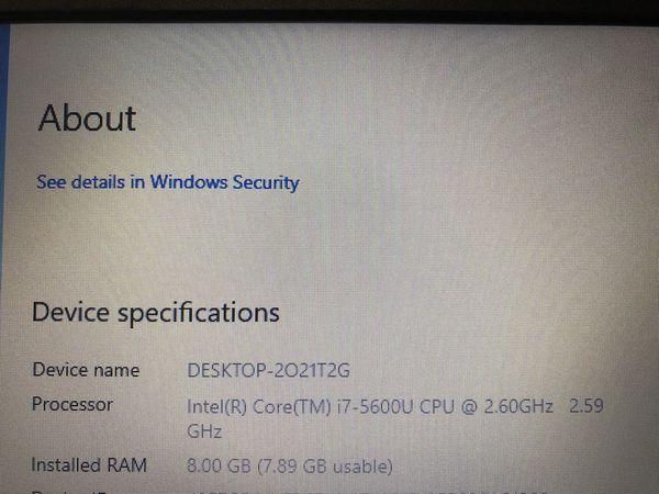 Dell Laptop / Computer i7