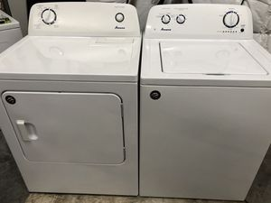 Amana Matching Washer and Dryer Set that CAN be delivered and set up for Sale in Clarksville, TN