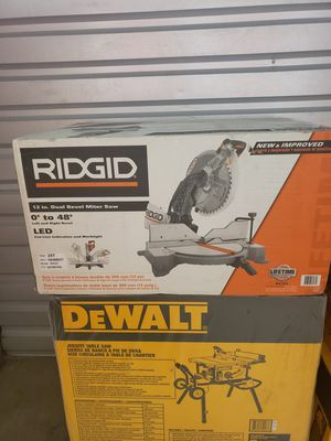 Rigid 12 inch Miter Saw With LED (R4123) for Sale in Philadelphia, PA