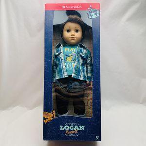 "(DISCONTINUED )American Girl LOGAN EVERETT American Girl's First BOY 18"" Doll - Tweeny Pop Star for Sale in Riverside, CA"