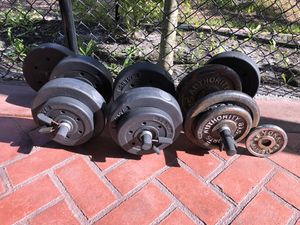 Dumbells and weights for Sale in Fort Lauderdale, FL
