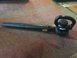 Hand Held Electric Leaf Blower Power Sweep 160 Mph Blow Hard Easy for Sale in Lakewood, OH
