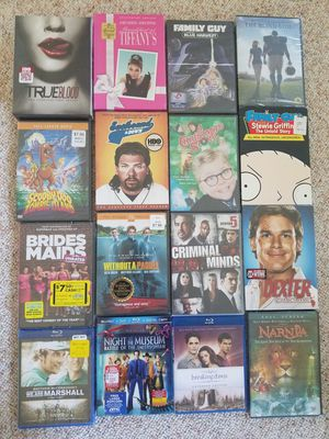 16 Movies/Tv Shows, Please Read Description. for Sale in Northport, NY