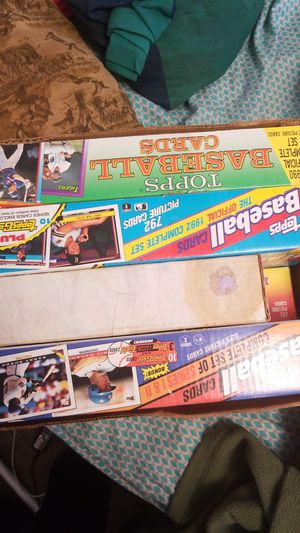 Tops Baseball Cards from 1990 to 1995 for Sale in Columbia, TN