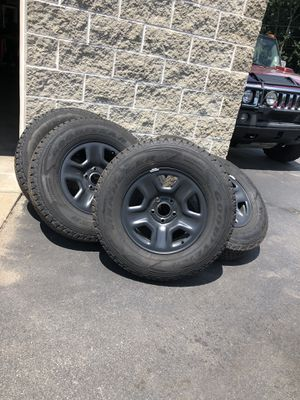 (5) 2019 Jeep Wrangler Wheels and Tires for Sale in Cranston, RI