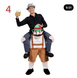 Funny Stuffed Carry Back Ride On Mascot Fancy Dress Up Party Costume Adult Outfit Halloween for Sale in Tampa, FL