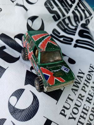 1989 VINTAGE HOT WHEELS Green Flag Flyer's Land Rover World Racers (A) for Sale in West Chicago, IL