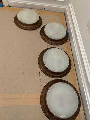 Light fixtures $20 for bundle x2 for Sale in Laurel, MD