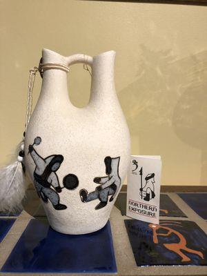 Shiela Soenen Canadian artist pottery wedding vase for Sale in Wayland, MA