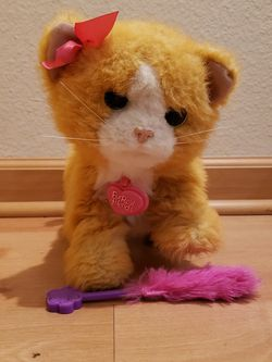 FurReal Friends Daisy Plays-with-me Kitty Toy for Sale in Escondido,  CA