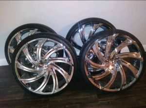 "24"" Rims for Sale in Dallas, TX"