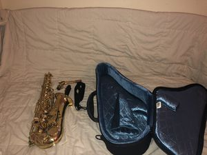 alto saxophone and case ect. for Sale in Columbus, OH