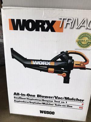 WORX Leaf Blower and Mulcher for Sale in Renton, WA