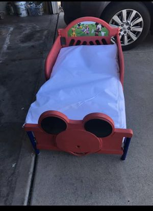 Mickey Mouse toddler bed for Sale in Fountain, CO