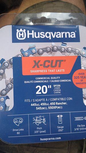 "Husqvarna 20"" Chainsaw for Sale in Ocoee, FL"