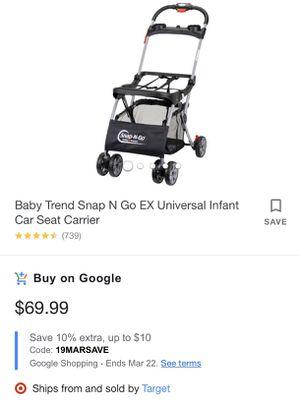 Car seat stroller for Sale in Ocala, FL
