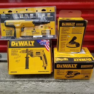 Dewalt tools, READ DESCRIPTION FOR PRICES ( New) for Sale in Cary, NC
