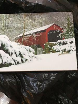 Vinyl Picture Of Bridge in West Virginia for Sale in Franklin, WV