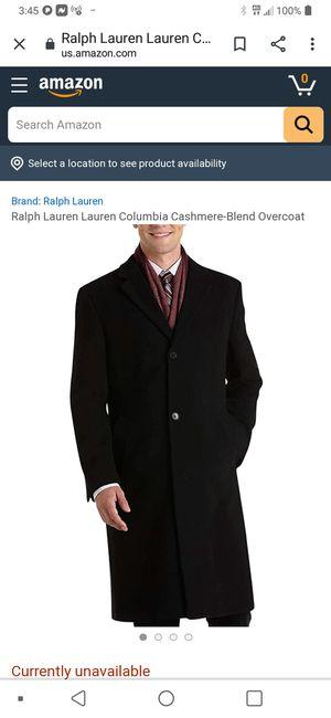 $495.00 RALPH LAUREN WOOL TRECH COAT for Sale in Lanham, MD