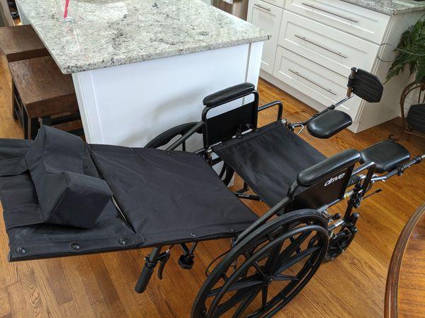 Drive Silver Sport 20 wheelchair