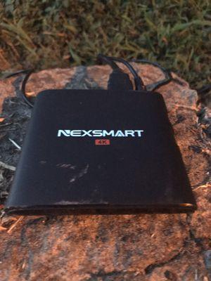 Nexsmart D32 4K Android Smart TV Box for Sale in Nashville, TN