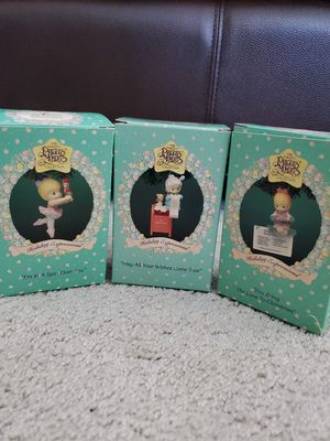 New Enesco Precious Moments Ornaments/Holiday Expressions/Christmas for Sale in Huntington Beach, CA