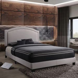 Ariana Collection Platform Fabric Queen Bed $269.00 Super Sale! In Stock! Free Delivery 🚚 for Sale in Chino, CA