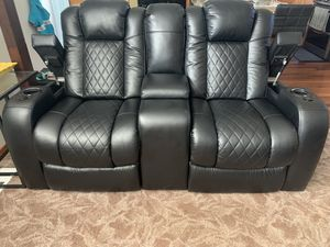 Reclining racer love seat for Sale in Kent, WA