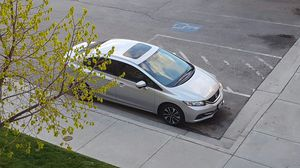 Honda Civic EX 2015 with Leather Moonroof Keyless Heated seats 8k Miles Only for Sale in South Salt Lake, UT