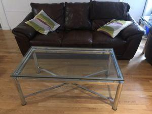 Steve Silver Nova Glass Tables for Sale in New York, NY