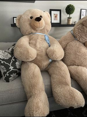 Super Plush Giant Teddy Bear! Stuffed Bear🧸 for Sale in Chino, CA