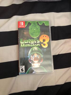 Luigis mansion 3 for Nintendo Switch for Sale in Los Angeles, CA