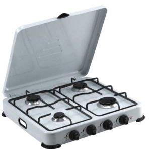 Premium Portable 4 Burners Propane Gas Stove Camping Patio Cocina de Gas Propano Portátil Campamentos Terrazas PPS41 for Sale in Miami Springs, FL