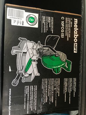 Metano HPT Compound Miter Saw for Sale in Philadelphia, PA