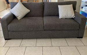 Dark Grey Living Spaces Sofa for Sale in Lemon Grove, CA