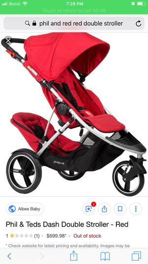 Phil and Teds double dash stroller for Sale in Denver, CO