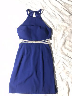 Royal blue social dress for Sale in New Port Richey, FL
