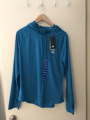 Adidas - Women's Large Teal Performance Hoodie for Sale in Worcester, MA