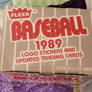 Fleer Baseball 1989 for Sale in Henderson, NV