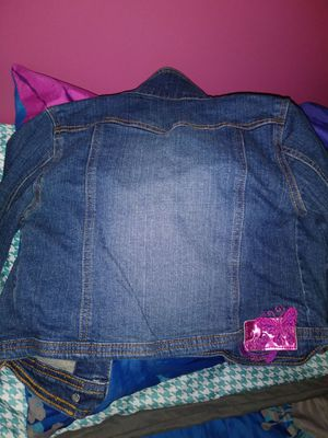 Tinkerbell Jean Jacket 5/6 for Sale in Fort Worth, TX