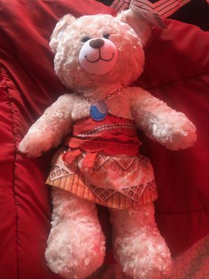 Moana Build-A-Bear for Sale in Spring Valley, CA