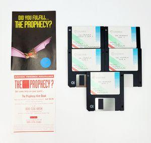 "Sierra - The Prophecy - 5.25"" Floppy Disks, Manual & Feelie - IBM PC Tandy for Sale in Trenton, NJ"
