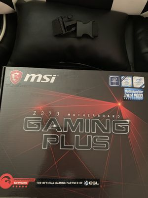 MSI Z370 Gaming Plus Motherboard for Sale in Lake Elsinore, CA
