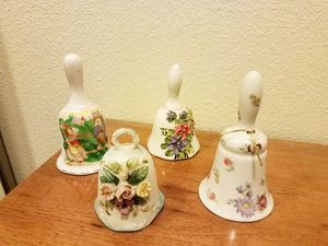 Collectible Hand-painted Porcelain Bells for Sale in Monroe Township, NJ