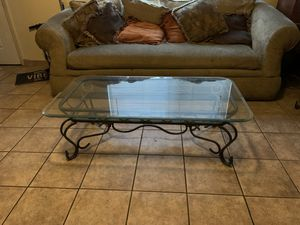 Glass and metal table set for Sale in San Jose, CA