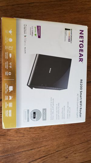 Netgear R6200 Smart WiFi Router AC1200 for Sale in Columbia, SC
