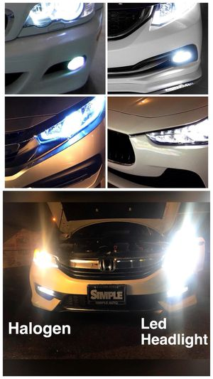 Cheapest super bright LED headlights or fog lights $25 for Sale in West Covina, CA
