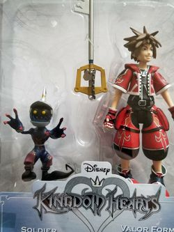 2 Disney Kingdom Hearts Action Figures for Sale in Everett,  WA